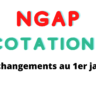 NGAP Cotations : quelles modifications  au 1er janvier 2021 ?